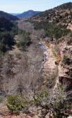 Oak Creek Canyon Arizona — Stock Photo