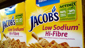 Jacobs is a brand name for several lines of biscuits and cracker — Stock Photo