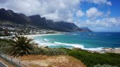 Camps Bay at Cape Town, South Africa — Stock Photo