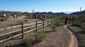 Arizona horse riding adventures — Stock Photo
