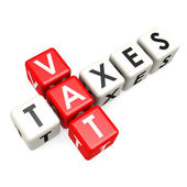 Vat taxes buzzword  — Stock Photo