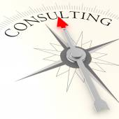 Consulting compass — Stock Photo
