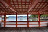 A view of Itsukushima Shrine — Stock Photo