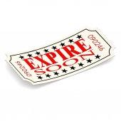 Expire soon ticket — Stock Photo