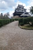 Matsue castle in Matsue — Stock Photo