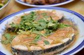 Mock fish made for vegetarian — Zdjęcie stockowe