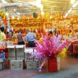 Customers shop for Chinese New Year — Stock Photo #66718115