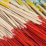 Pattern of joss stick — Stock Photo #69218053