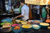 露店厨パッド バンコクでタイ — ストック写真