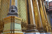 A golden Grand Palace — Stock Photo