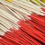 Pattern of joss stick — Stock Photo #70798261
