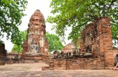 Ayutthaya Historical Pagoda — Stock Photo
