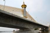 Nonthaburi Bridge in Bangkok — Zdjęcie stockowe