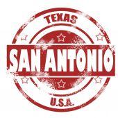 San Antonio stamp — Stock Photo