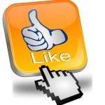 Thumb up App — Stock Photo #53752151
