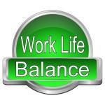 Work Life Balance button — Stock Photo #56054099