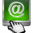 E-Mail Button with cursor — Stock Photo #59276619