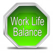 Work Life Balance button — Stock Photo #59691899