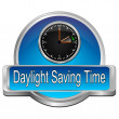 Daylight saving time button — Stock Photo #66477163