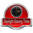 Daylight saving time button — Stock Photo #66825619
