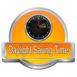 Daylight saving time button — Stock Photo #67244685