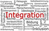 Integration Wordcloud in german — Stok fotoğraf