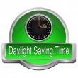 Daylight saving time button — Stock Photo #68342753