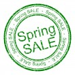 Spring sale rubber stamp — Stock Photo #70695099