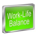 Work Life Balance button — Stock Photo #70714317