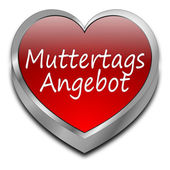 Mother's Day offer - in german — Stock Photo