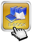 E-bok knappen med markören — Stockfoto