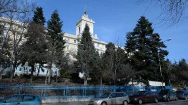 VARNA, BULGARIA - JANUARY 20, 2015: Varna. Bulgaria. naval School — ストックビデオ