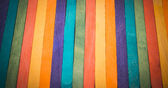 Colorful wooden stripe on vertical2 — Stock Photo