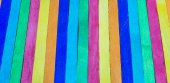 Colorful wooden stripe on vertical4 — Stock Photo