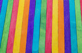 Colorful wooden stripe on vertical5 — Stock Photo