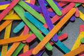 Variety color of wooden stripe3 — Stock Photo
