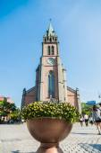 Myeong dong Catholic Cathedral in Seoul South Korea — Stock Photo