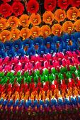 Colorful paper lantern for Lotus lantern festival in South Korea — Stock Photo