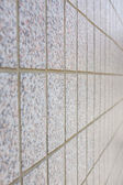 Pattern of Marble block wall — Stock Photo