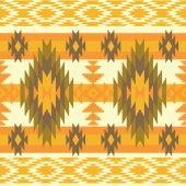 Abstract ethnic pattern — Stock Vector