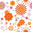 Seamless floral pattern — Stock Vector #56541603