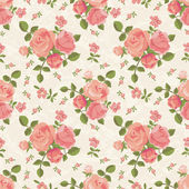 Roses wallpaper — Stock Vector