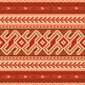 Abstract fabric pattern in ethnic style — Stock vektor