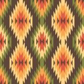 Ethnic style seamless pattern — Stock Vector