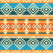 Navajo style geometric seamless pattern — Stock Vector