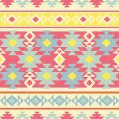 Ethnic carpet seamless pattern — Stock Vector