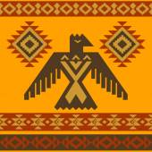 Tribal eagle vector illustration — Stock Vector