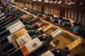 Artistic Effect - Wine Rack — Stock Photo