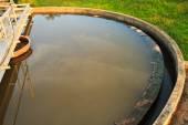 废水处理 — 图库照片