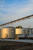 Tratamento de águas residuais — Foto Stock